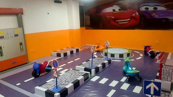 فروش شهر ترافیک کودک با پیست و میدان