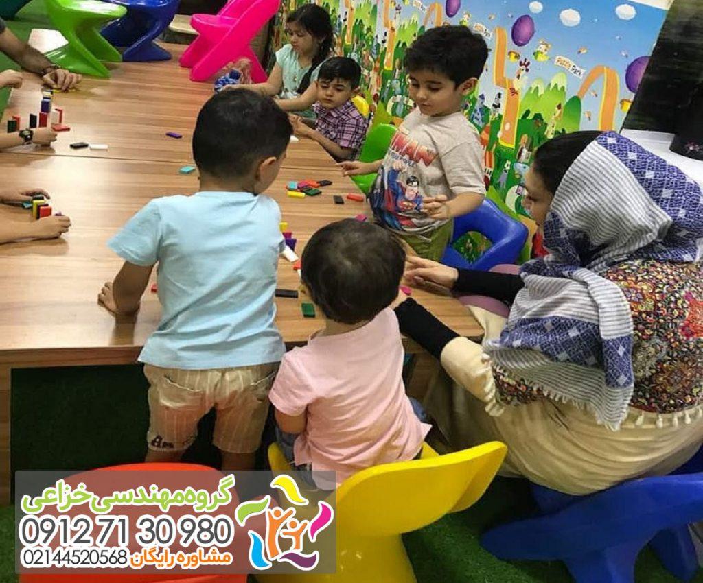 خرید تجهیز خانه بازی کودک