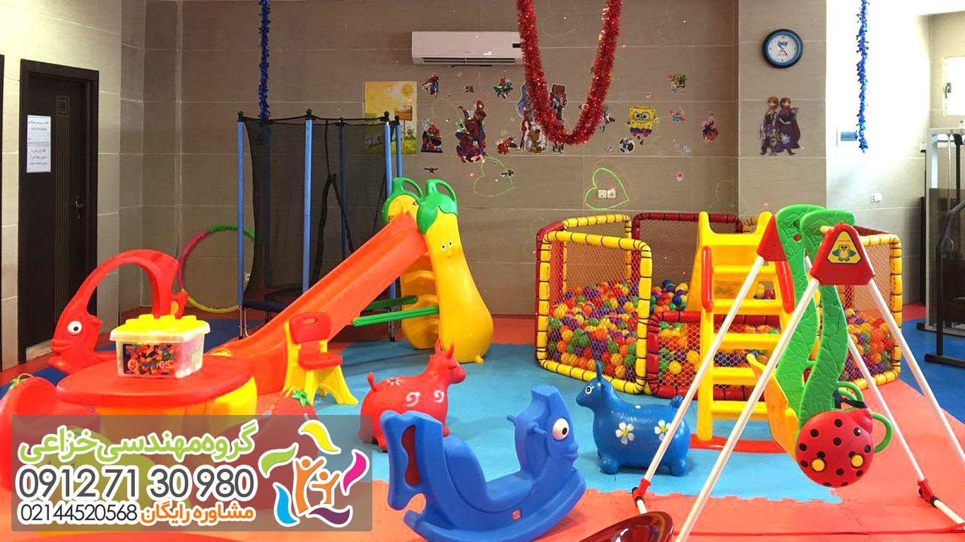 خانه بازی کودک تجهیزات لوازم وسایل