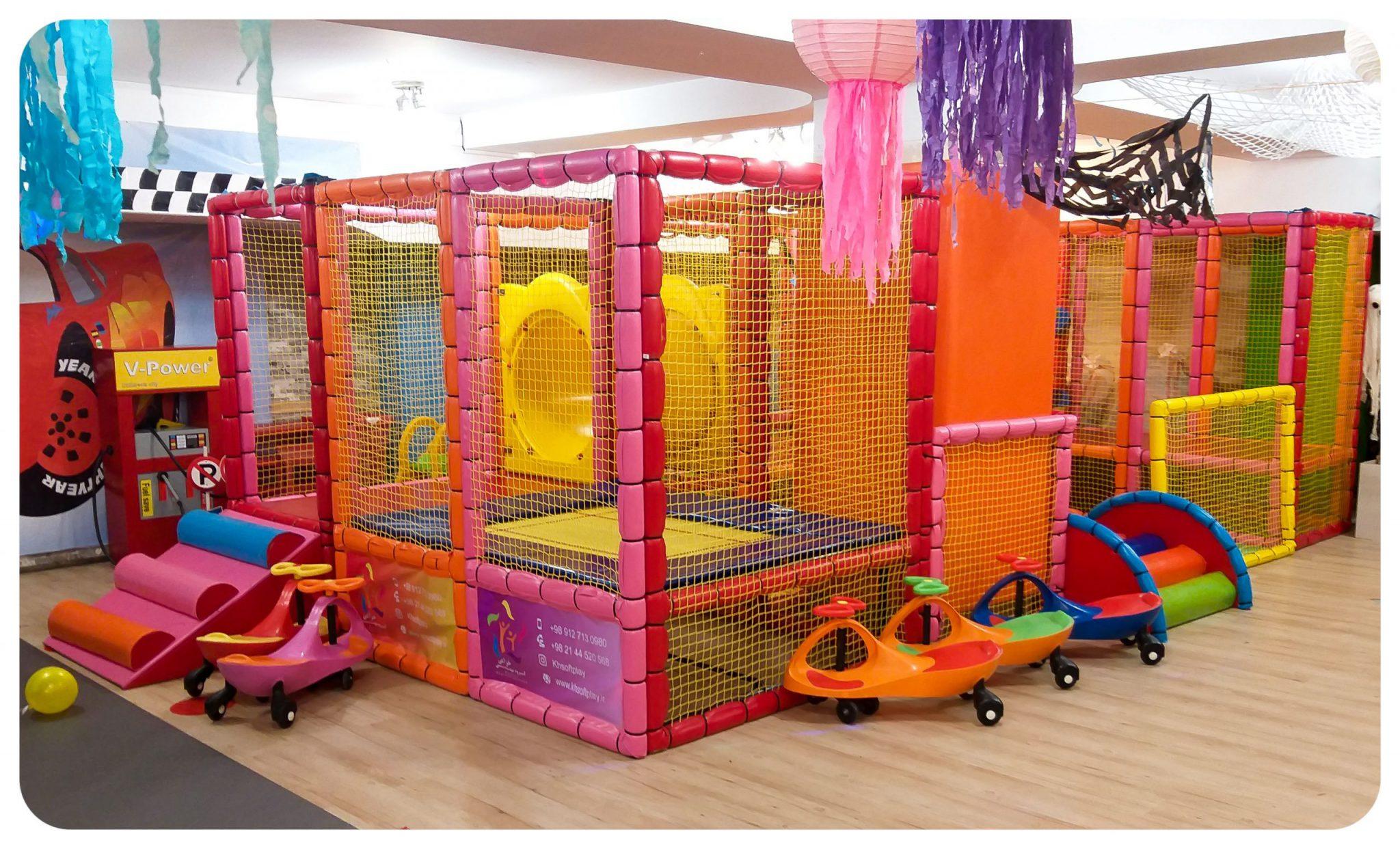 سافت پلی | پلی گراند | خانه بازی | تجهیزات مهدکودک | وسایل خانه بازی کودک