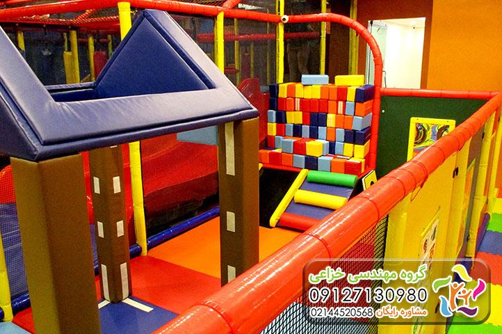 سافت پلی گراند، زمین بازی نرم مخصوص کودکان