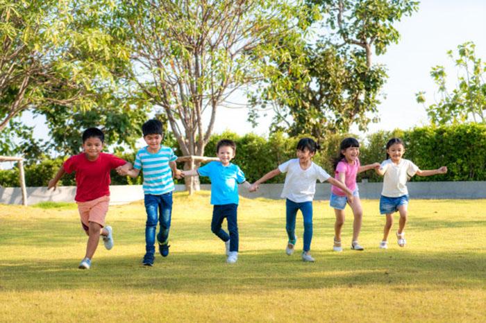 دویدن کودکان