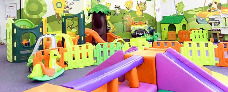 زمین بازی کودک | فضای بازی کودک | خانه بازی کودک