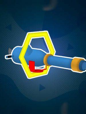 تفنگ پرتاب توپ | سافت پلی | پلی گراند | زمین بازی کودک | شهربازی سرپوشیده